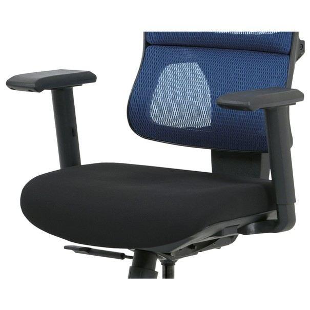 Kancelářská židle WILLIAM modrá 5