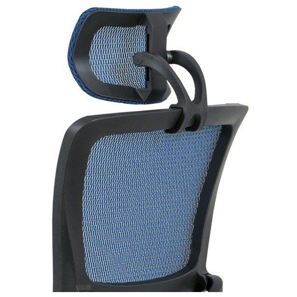 Kancelářská židle WILLIAM modrá 6