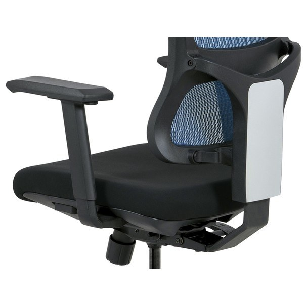 Kancelářská židle WILLIAM modrá 7