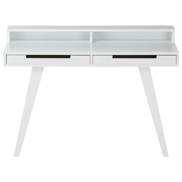 Písací stôl WOLGA biela 1