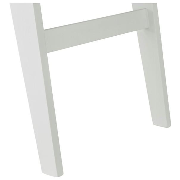 Písací stôl WOLGA biela 4