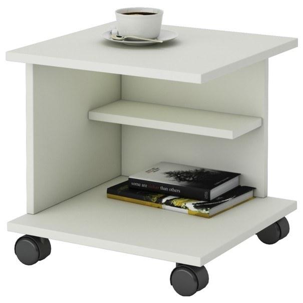 Konferenční stolek WUM perlová bílá 1