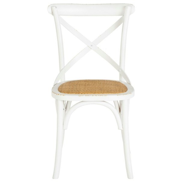 Jedálenská stolička XABI biela 3