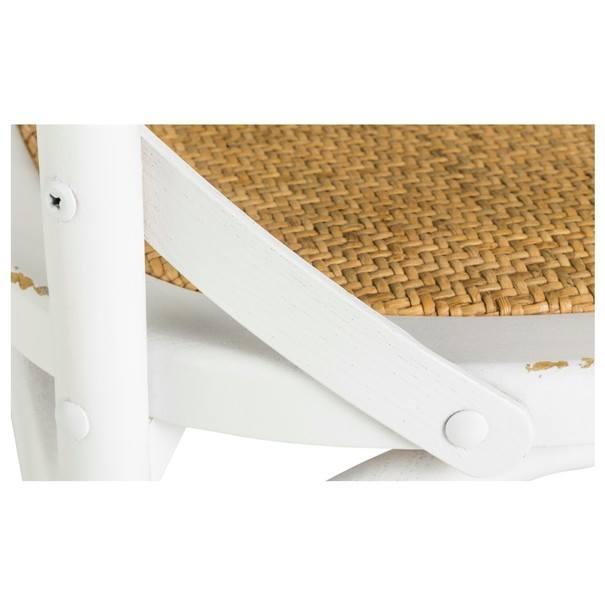 Jedálenská stolička XABI biela 6