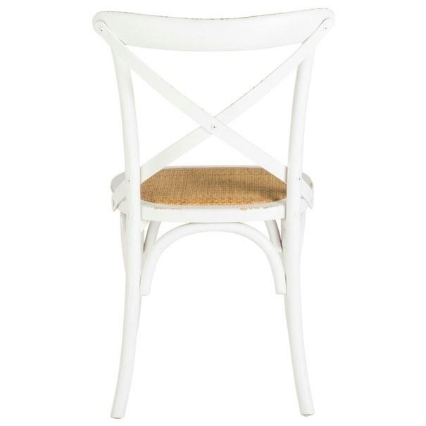 Jedálenská stolička XABI biela 8