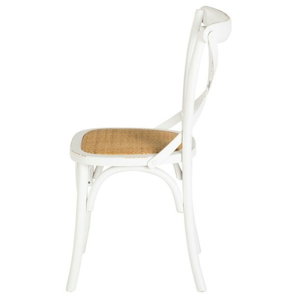 Jedálenská stolička XABI biela 9