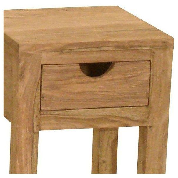 Přístavný stolek YOGA 6509 palisandr 2