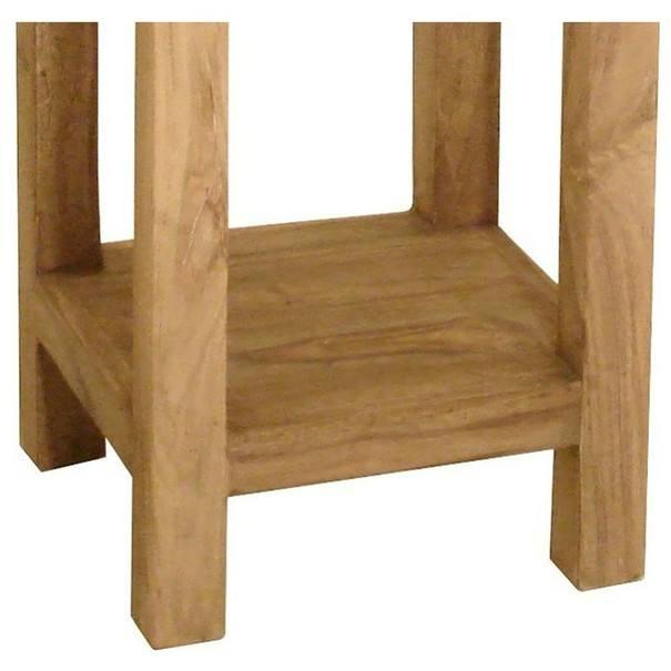 Přístavný stolek YOGA palisandr 2