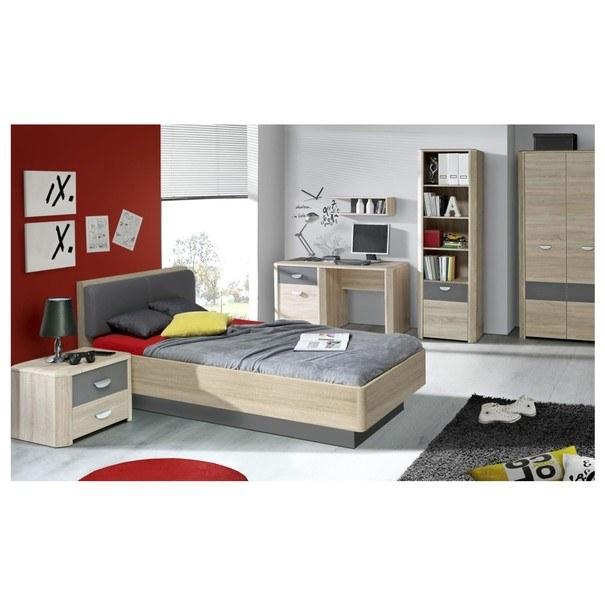 Noční stolek YOOP dub sonoma/antracit 2