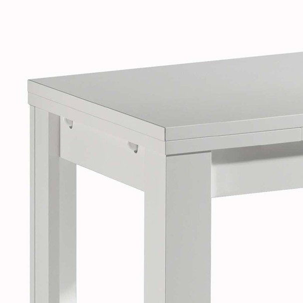 Jedálenský stôl ZIP/110 biela 2
