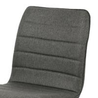 Jedálenská stolička ABIGALE sivá 2