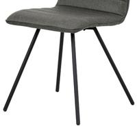 Jedálenská stolička ABIGALE sivá 3