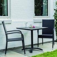 Zahradní židle ACAPULCO černá 3