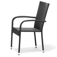 Zahradní židle ACAPULCO černá 5