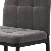 Jídelní židle ADELE I černá/šedá 5