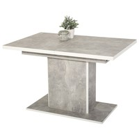 Stôl ALICE T betón/biela 1