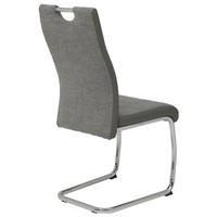 Jedálenská stolička ALINA S sivá 4
