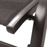 Záhradná stolička AMICO sivá 5