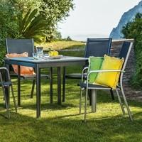 Zahradní stůl AMICO šedá/šířka stolu 95 cm 2