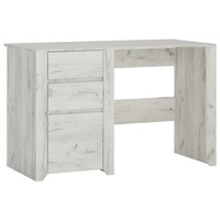 Písací stôl ANGEL 80 dub craft biely 1