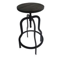 Barová židle ARBA 3 černá 1