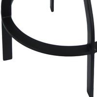 Barová židle ARBA černá 5