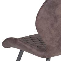Jedálenská stolička AURORA S vintage hnedá 4