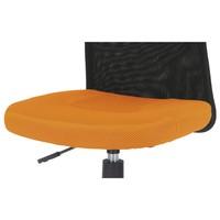 Kancelářská židle BAMBI oranžová/černá 9