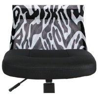 Kancelářská židle BAMBI černá s motivem 8