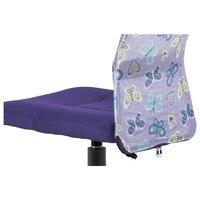 Kancelářská židle BAMBI fialová s motivem 10