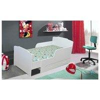 Detská rastúca posteľ  BAMBI biela, 80x200 cm 2