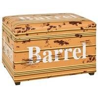 Truhlica so sedákom BARREL  vintage 1