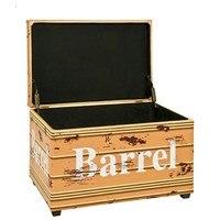 Truhlica so sedákom BARREL  vintage 2
