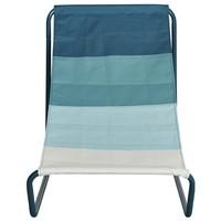 Plážová židle BEACH  modrá/tyrkysová/bílá 3