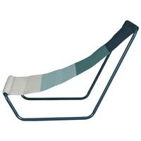 Plážová židle BEACH  modrá/tyrkysová/bílá 4