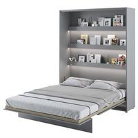 Postel BED CONCEPT 1 šedá, 160x200 cm 2