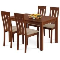 Jídelní židle BELA třešeň/magnolia 2