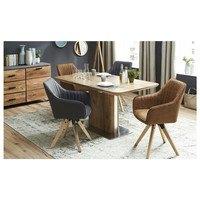 Jídelní židle BENITO cognac 2