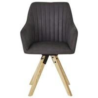 Jídelní židle BENITO šedá 3