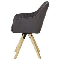 Jídelní židle BENITO šedá 4