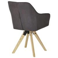 Jídelní židle BENITO šedá 5