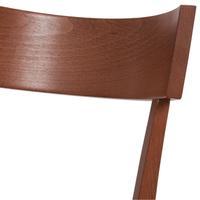 Jedálenská stolička BETTY čerešňa 4