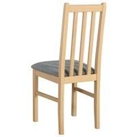 Jídelní židle BOLS 10 světle šedá/dub sonoma 2