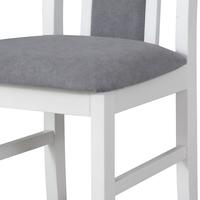 Jídelní židle BOLS 14 šedá/bílá 5