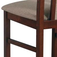 Jídelní židle BOLS 14 světle hnědá 4