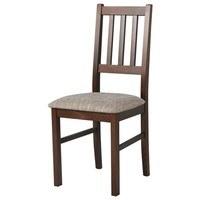 Jídelní židle BOLS hnědá 1