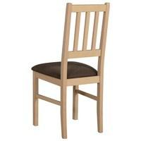 Jedálenská stolička BOLS dub sonoma/hnedá 2