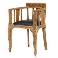 Jedálenská stolička BOMBAY prírodný palisander 1