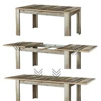 Jídelní stůl BONANZA driftwood 3