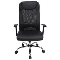Kancelárská stolička BRAMPTON čierna 3